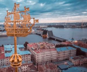 Санкт-Петербург флюгер мост