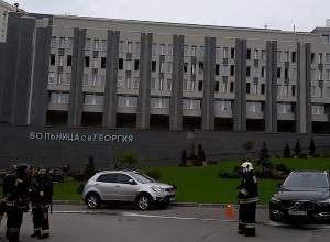 ЧП Больница Святого Георгия пожар