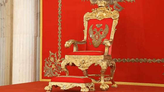 Эрмитаж трон российских императоров