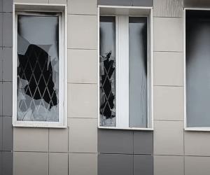 окна пожар больница Святого Георгия